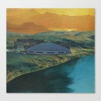 Mundane Science Fiction Canvas Print