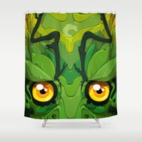 Oolong Shower Curtain