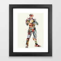 Quick As Lightning Framed Art Print