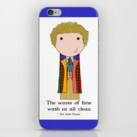 The Sixth Doctor iPhone & iPod Skin