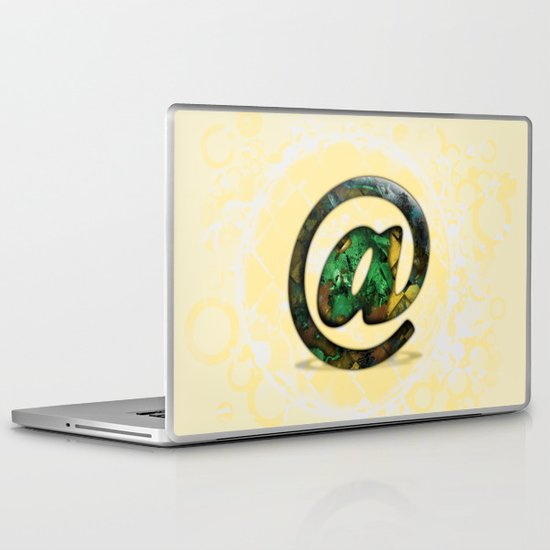 At Sign {@} Series - Cooper Std Typeface Laptop & iPad Skin