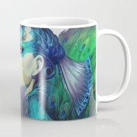 Peacock Queen Mug