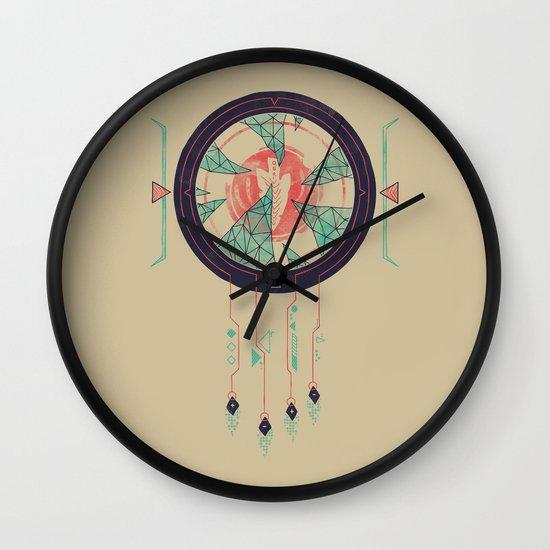Digital Catcher Wall Clock
