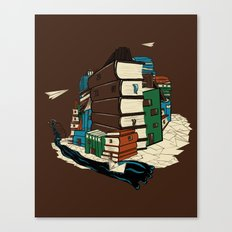 Book City Canvas Print