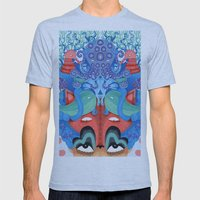 Where is my mind Mens Fitted Tee Athletic Blue SMALL