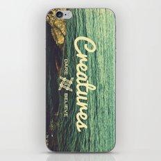 Creatures dare 2 believe - Swedish summer iPhone & iPod Skin