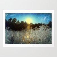 First Creek Lake | Infrared  Art Print