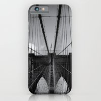 iPhone & iPod Case featuring The Brooklyn Bridge by Marisa Nourbese Photos