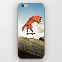 Skateboard FOX! iPhone & iPod Skin