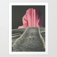 Big Pink Art Print