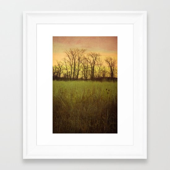 Morningtide - When Night is Left Behind Framed Art Print