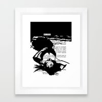 The Answer Framed Art Print