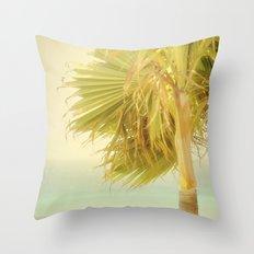 Palm Trees Always Whisper Throw Pillow