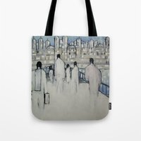 Foot Traffic 02 Tote Bag