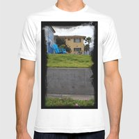 House On The Esplanade Mens Fitted Tee White SMALL