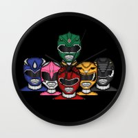 It's Morphin' Time! Wall Clock
