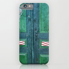 Old Green Door iPhone 6 Slim Case