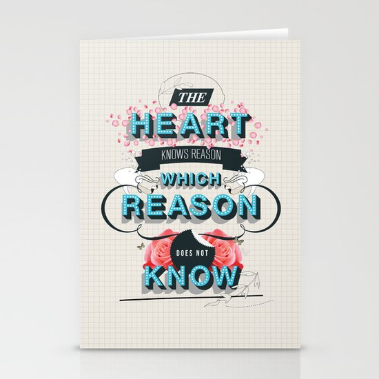 The Reason Stationery Card