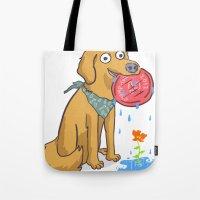 Dog Days Tote Bag