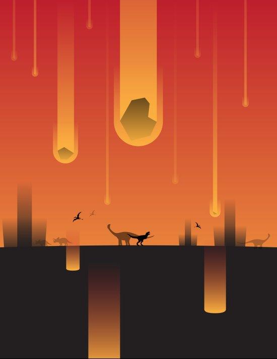 Extinction Event Art Print