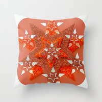 Superstars Throw Pillow