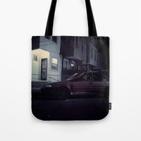 Red Camry Tote Bag