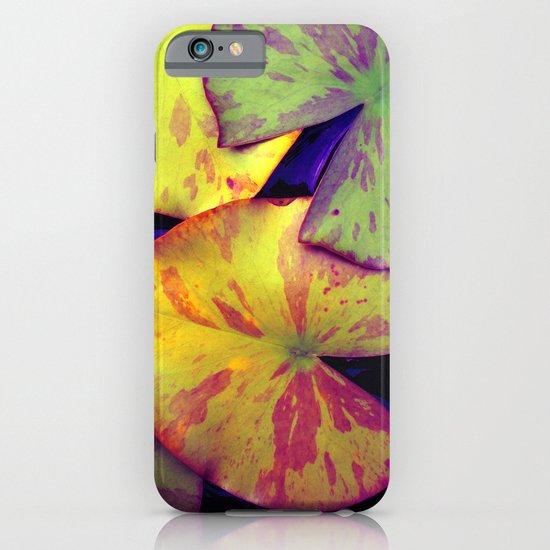 lily pads IIX iPhone & iPod Case