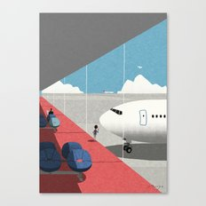 Departure Lounge Canvas Print