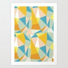Triangular spectrum Art Print