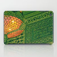 Chicago Cultural Center ~ architecture tiffany lamp detail iPad Case