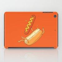 Hotdog Fall iPad Case