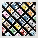 Rainbow Tapes 45 Canvas Print