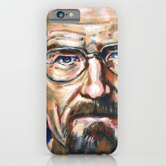 Walter White Breaking Bad iPhone & iPod Case