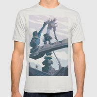 Shadow of the Colossus  Mens Fitted Tee Silver SMALL
