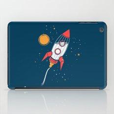 Bottle Rocket to the Milky Way iPad Case