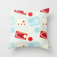 Radio Ga Ga Throw Pillow