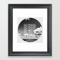Go Travel! - By Rasmus V… Framed Art Print