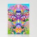 Anime Flower Explosion Stationery Cards