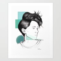 Heartthrob Art Print