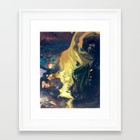 Night Tides Framed Art Print