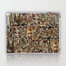 Requiem Playing Cards - Jokers and Courts Laptop & iPad Skin