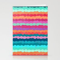 Brite Stripe Stationery Cards