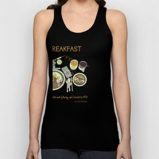 Breakfast, the Most Important Meal of the Day Unisex Tank Top