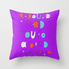 wings to love free  Throw Pillow