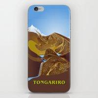 Magic Water - Tongariro National Park iPhone & iPod Skin