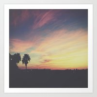 Forever Sunsets Art Print