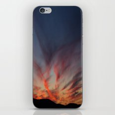 Bleeding sky iPhone & iPod Skin