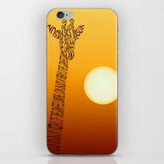 Giraffe And Sun iPhone & iPod Skin