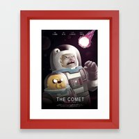 The Comet - Time For Adv… Framed Art Print