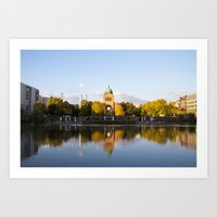 Engelbecken - Berlin Art Print